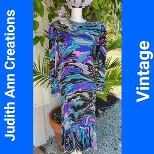 Judith Ann Vintage Silk Dress